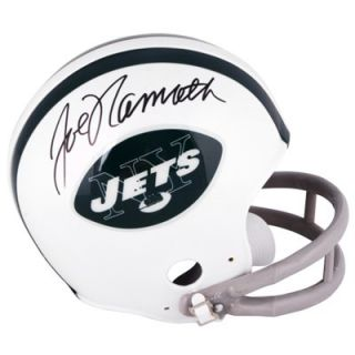 Joe Namath New York Jets Autographed Throwback Riddell Mini Helmet