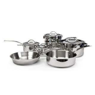 Gordon Ramsay Maze Stainless Steel Cookware 11 pc. Set with Bonus Egg Poacher   Cookware Sets