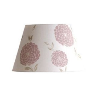 Erin Chalk Pink Barrel Lamp Shade   Lamp Shades