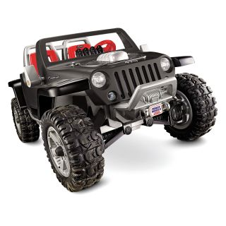 Fisher-Price Power Wheels Battery Operated Jeep Hurricane Riding Toy   Battery Powered Riding Toys