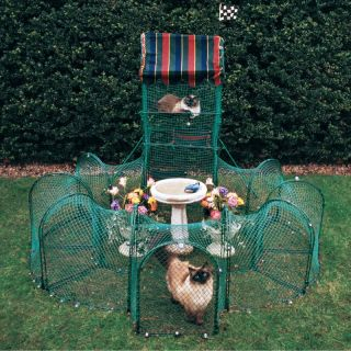 Kittywalk Grand Prix Outdoor Enclosure