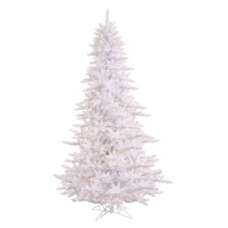 Vickerman White Fir Pre lit Christmas Tree   Christmas Trees