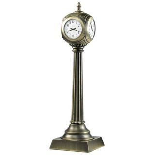 Union Square Desktop Clock by Bulova   Desktop Clocks