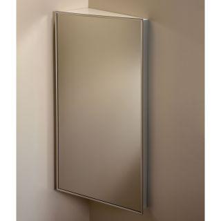 Broan Nutone 16W x 30H in. Corner Medicine Cabinet 860P30CH   Medicine Cabinets