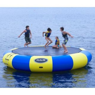 RAVE Sports 20 ft. Bongo Water Bouncer   Water Trampolines