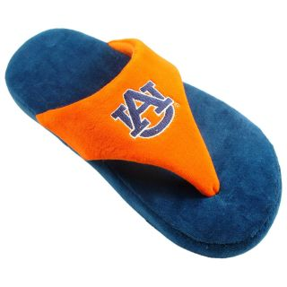 Comfy Feet NCAA Comfy Flop Slippers   Auburn Tigers   Mens Slippers