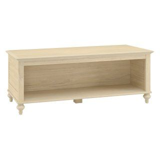 kathy ireland Office by Bush Furniture Volcano Dusk Driftwood Dreams   4 Shelf Bookcase   Bookcases