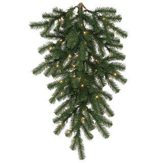 Vickerman 42 in. Douglas Fir Pre lit Tear Drop   Christmas Swags