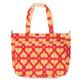 Ju Ju Be Mighty Be Diaper Tote   Coral Kiss   Tote Diaper Bags