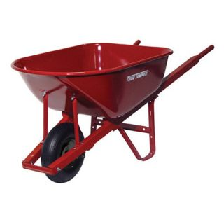 Ames 6 cu ft. Steel Homeowner Wheelbarrow   Wheelbarrows