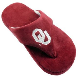 Comfy Feet NCAA Comfy Flop Slippers   Oklahoma Sooners   Mens Slippers
