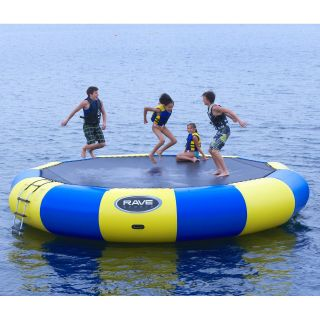 20 ft. RAVE Sports Bongo Water Bouncer Package   Water Trampolines