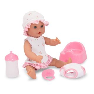 Melissa and Doug Mine to Love Annie Drink and Wet 12 in. Doll   Baby Dolls