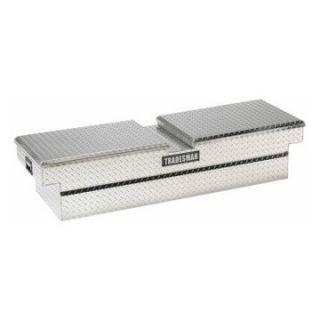 Tradesman Full size Truck Aluminum Cross Bed Tool Box   Bright   Truck Tool Boxes