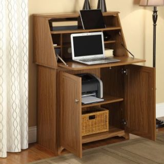 Altra Hillary Secretary Desk   Rustic Oak   Writing Desks