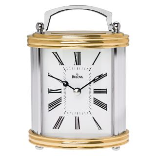 Bulova Dominion Desktop Clock   Desktop Clocks