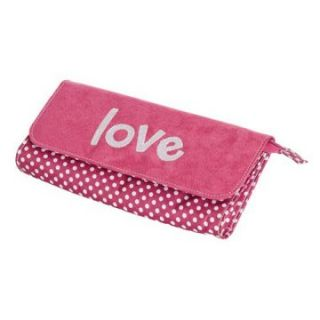 Mele Penny Love Jewelry Clutch   Hot Pink   5W x 1.5H in.   Womens Jewelry Boxes