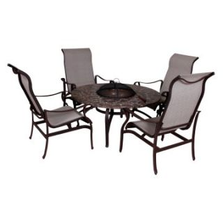 Sonoma Terra Nova Conversation Set with Fire Pit   Conversation Patio Sets