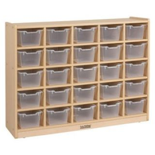 ECR4KIDS 25 Tray Cabinet with Bins   Classroom Storage