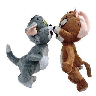 eine Reihe von Nette Tom und Jerry Cartoon Katze Maus Zahlen Weichem Pl�sch Puppe Spielzeug: Spielzeug