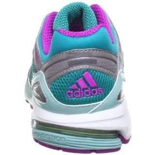 adidas Response Stabil 5 w Textile Q33528, Damen Laufschuhe, T�rkis (Blast Emerald F13 / Metallic Silver / Vivid Pink S13), EU 44 (UK 9.5) Schuhe & Handtaschen