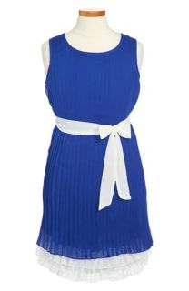 Paper Doll Pleated Dress (Big Girls)