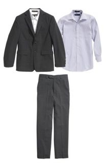 Joseph Abboud Suit Blazer, Dress Shirt & Flat Front Dress Pants (Big Boys)