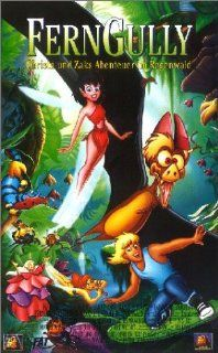 FernGully   Christa und Zaks Abenteuer im Regenwald [VHS]: Ted Field, Marci Liroff, Jim Cox, Wayne Young, Tom Klein, Tim Curry, Gillian Hutshing, Robert W. Cort, Peter Faiman, Samantha Mathis, Richard Harper, Brian Rosen, Christian Slater, Jonathan Ward, R