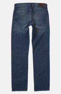 Quiksilver Distortion Slim Straight Leg Jeans (Big Boys)