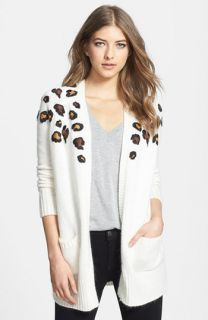 Tory Burch Kerstin Print Sweater