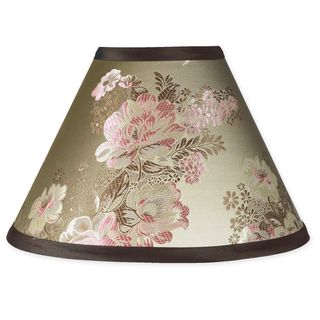 Sweet JoJo Designs Abby Rose Brown and Pink Lamp Shade Sweet Jojo Designs Nursery Lamps