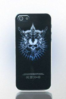 THS 5 Star LED Flash Farbwechsel Cover iPhone 5 Totenkopf Skull Leuchtcover Case H�lle Lichtspiel   Studio Lars Peter Neu Elektronik