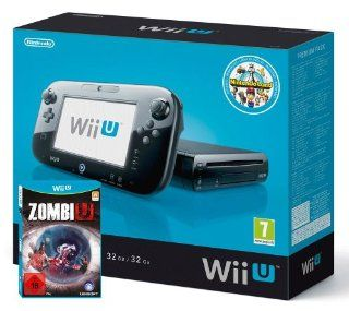 Nintendo Wii U   Konsole, Premium Pack 32 GB + ZombiU und Nintendo Land: Games