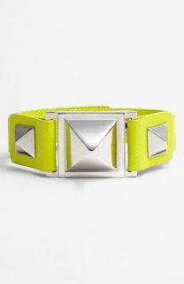 Vince Camuto Pyramid Studded Leather Bracelet