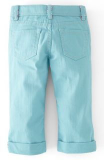 Mini Boden Slim Fit Twill Jeans (Little Girls & Big Girls)