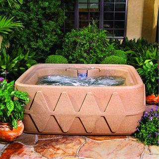 Aqua Rest X 400   Jacuzzi para 4 personas, acabado Sandstone Aqua Rest Spas Hot Tubs & Spas