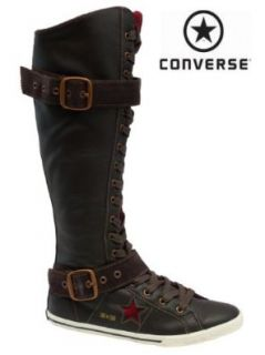 CONVERSE ONE STAR Stiefel / Boots OS LO PRO XXHI coffee/red 118823 Gr��e 41 Schuhe & Handtaschen