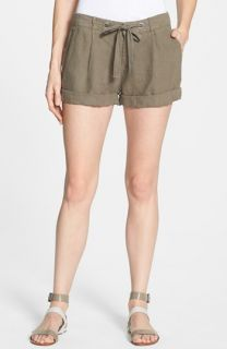 Joie Farrow Linen Shorts
