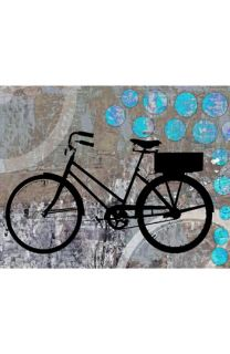 Green Leaf Art School Bicycle Wall Art
