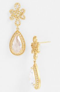 Freida Rothman Gramercy Love Knot Teardrop Earrings