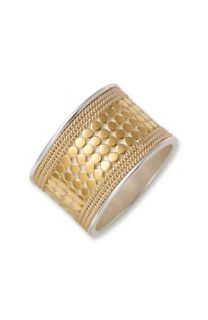 Anna Beck Gili Cigar Band Ring
