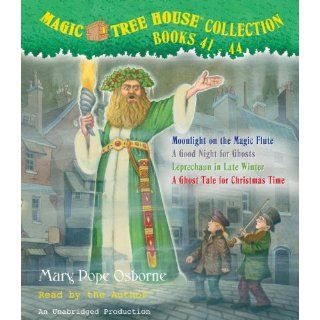 Magic Tree House Collection: Books 37 40: Dragon of the Red Dawn; Monday with a Mad Genius; Dark Day in the Deep Sea; Eve of the Emperor Penguin: Mary Pope Osborne: Englische Bücher