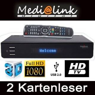 Medi@link Black Panther 2 Card Kartenleser HDTV Digital: Elektronik