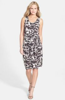Weekend Max Mara Lupino Wrap Waist Jersey Dress