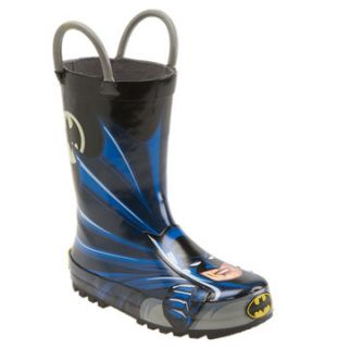 Western Chief Batman Rain Boot (Walker, Toddler, Little Kid & Big Kid)