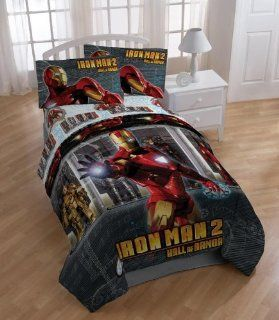 Iron Man 2 Hall of Armor Twin Comforter   Childrens Comforters
