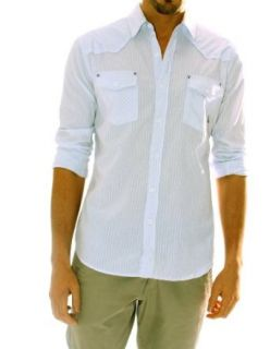 "191 Unlimited ""Aruba"" Striped Shirt (Small) at  Men�s Clothing store"