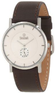 Swistar Men's 7817 5M Wh Precision Quartz Dress Sapphire Crystal Watch: Watches