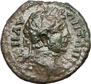 Caracalla 198AD Tomis in Thrace Very Rare Ancient Roman Coin Ares Mars War God: Everything Else