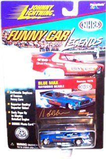 Johnny Lightning Funny Car Legends 195 Blue Max Raymond Beadle Toys & Games